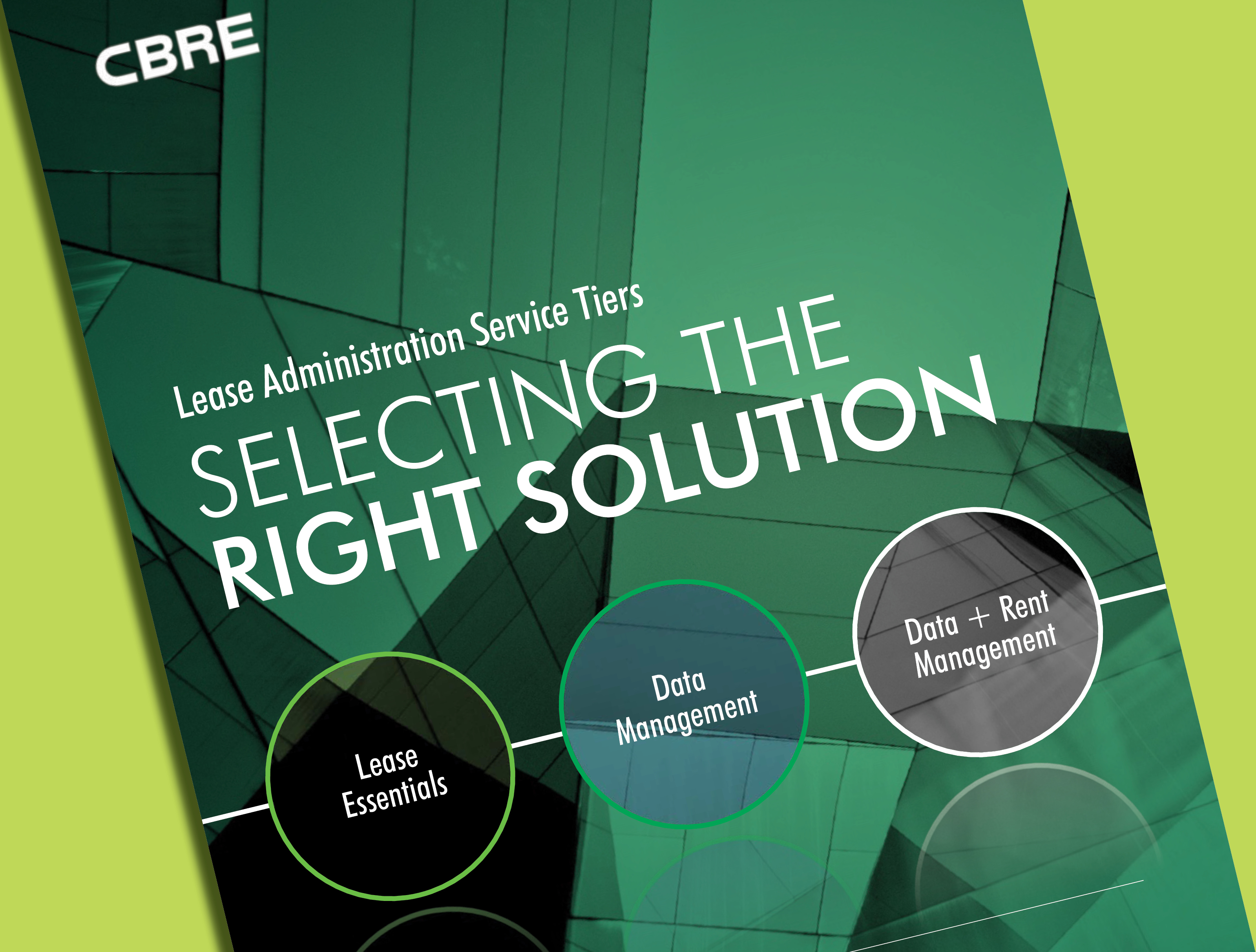 Selecting the right solution...