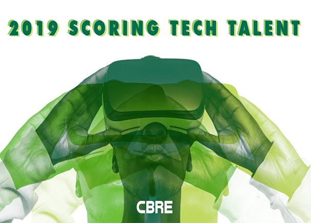 "Columbus lands at #27 on CBRE's annual ""Scoring Tech Talent"" report"
